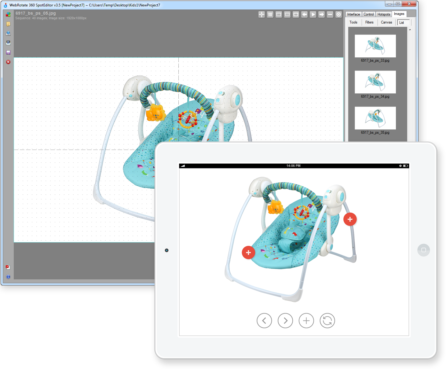 Software and plugins for 3D CAD & 360 product photography