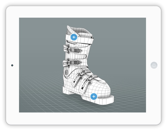 Create 3D product images from 3D CAD