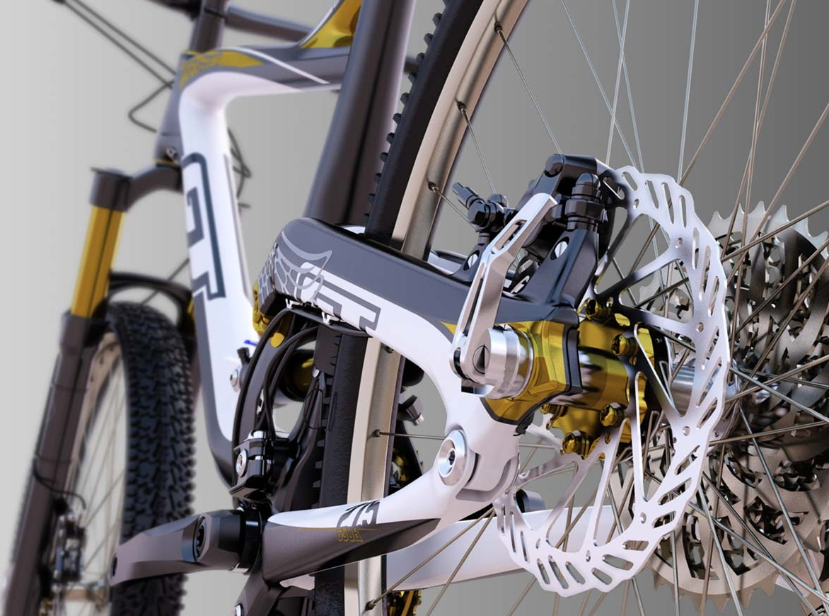 3D product visualization by Anifex (3d bike)