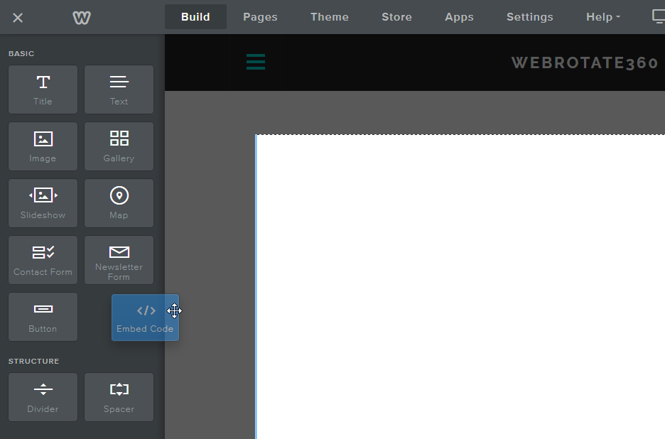 3D Product View For Weebly Embed Code